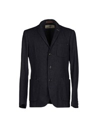 Replay Suits And Jackets Blazers Men Steel Grey