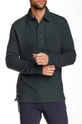 Relwen Thermal Long Sleeve Polo Green