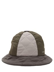Kangol Quilted Color Block Bucket Hat Multicolor