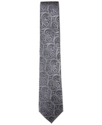 Countess Mara Men's Howard Paisley Tie Black