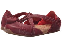 Ahnu Karma Latitude Leather Red Stone Women's Shoes Burgundy