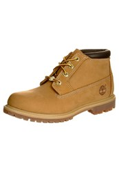 Timberland Nellie Laceup Boots Wheat Beige