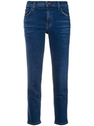 J Brand Slim Fit Jeans Blue