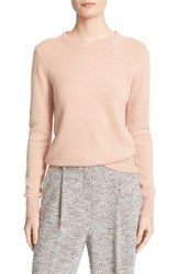 Theory Women's Salomina Cashmere Sweater Pale Rose