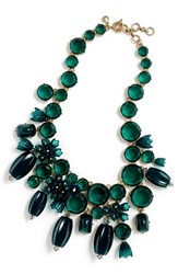 J.Crew Women's J. Crew Trico Bubble Necklace Rich Peacock
