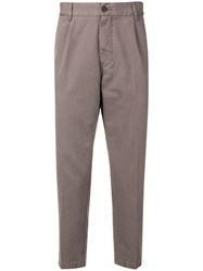 Haikure Relaxed Fit Tailored Trousers Grey