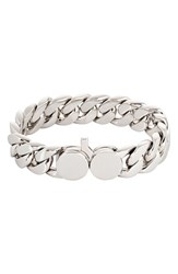 Tom Wood Women's Slim Silver Chain Link Bracelet