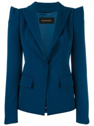 Plein Sud Jeans Pointy Shoulders Blazer Blue