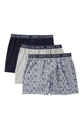 Kenneth Cole Reaction Fashion Knit Boxers Pack Of 3 Gyhth Reastp Sc