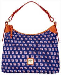 Dooney And Bourke New York Giants Hobo Bag Navy