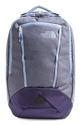 The North Face 'Microbyte' Backpack Blue Dot Texture Collar Blue