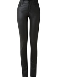 Amapa High Waisted Skinny Jeans Black