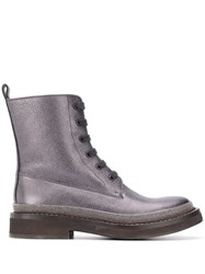 Brunello Cucinelli Grained Effect Ankle Boots 60
