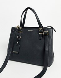 Carvela Hooper Slouch Structured Tote Bag In Black