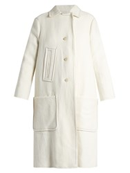 Isabel Marant Ellery Double Breasted Coat Ivory