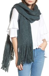 Free People Women's Kolby Brushed Scarf Turquoise