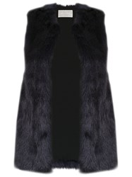 Lilly Sarti Fox Gilet Blue