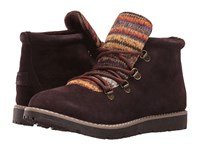 Skechers Bobs Alpine S'mores Charcoal Women's Lace Up Boots Gray