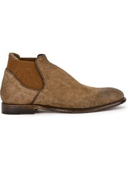 Silvano Sassetti Ankle Length Boots Nude And Neutrals