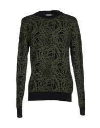 Christian Dior Dior Homme Knitwear Jumpers Men Military Green