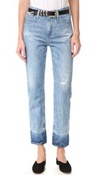 Ag Jeans The Phoebe High Waisted 18 Years Harnessed Light