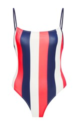 Solid And Striped Chelsea One Piece Stripe
