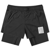 Satisfy Short Distance 8 Running Short Black