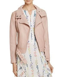 Mackage Hania Leather Moto Jacket 100 Bloomingdale's Exclusive Petal
