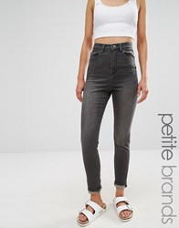 Waven Petite Anika High Rise Skinny Jeans Grey