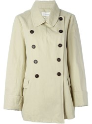 Isabel Marant A Toile 'Megan' Trench Coat Nude And Neutrals