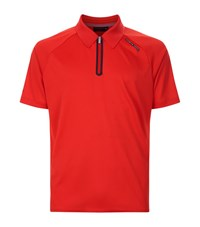 Porsche Design Travel Polo Shirt Male Red