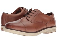 Nunn Bush Melvin Street Cap Toe Oxford With Kore Slip Resistant Walking Comfort Technology Camel Multi Lace Up Wing Tip Shoes Beige