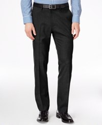 Kenneth Cole Reaction Men's Slim Fit Stretch Dress Pants Black
