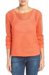 Women's Fever Open Knit Sweater