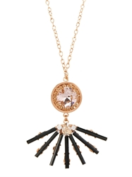 Vickisarge Cosmos Crystal Gold Plated Necklace