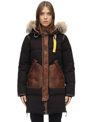 Parajumpers Long Bear Special Edition Down Jacket Raven