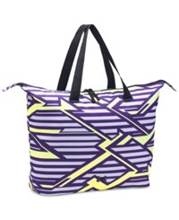 Under Armour Printed On The Run Tote Bag Purple Pale Moonlight