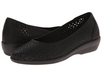 Bass Broadway Black Nubuck Women's Sandals