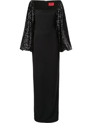 Solace London Greta Sequin Sleeve Gown 60