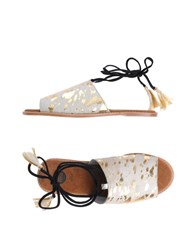 Gioseppo Footwear Sandals Ivory