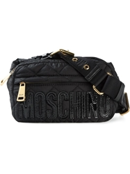 Moschino Quilted Bumbag Black