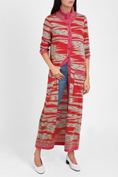 Missoni Space Dye Long Cardigan Multi