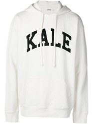 Zadig And Voltaire Printed Spencer Hoodie White