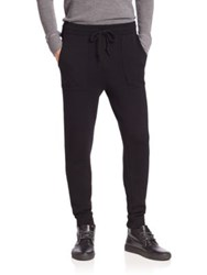 Michael Kors Merino Wool Double Knit Pants Black