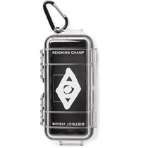 District Vision Reigning Champ Radical Retreat Rubber Lined Polycarbonate Case Clear