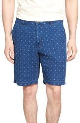 Jeremiah Men's Chance Indigo Jacquard Shorts