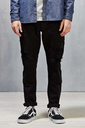 10.Deep Destructed Carpenter Pant Black