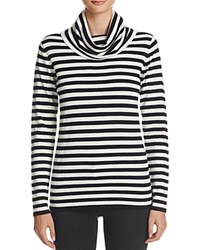 Chelsea And Theodore Striped Pullover Compare At 78 Black Bleach