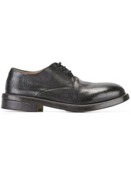Marsell Textured Derbies Black