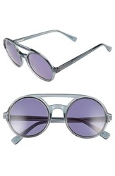Derek Lam Women's 'Morton' 52Mm Sunglasses Grey Smoke
